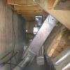 Some homes have a crazy amount of duct work, this duct work is at an A frame cabin in the Rocky Mountains that we were requested to duct clean.